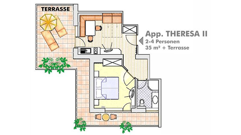 Appartement Theresa